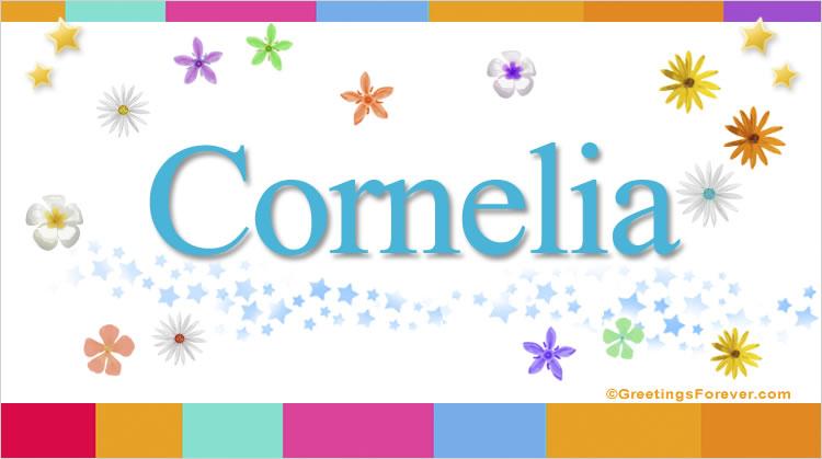Cornelia, imagen de Cornelia