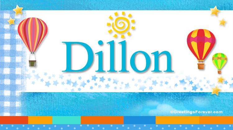 Dillon, imagen de Dillon