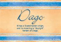 Name Dago