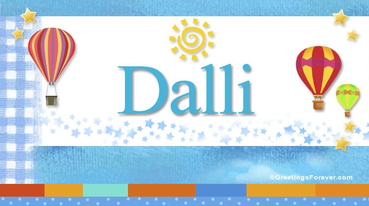 Dalli, imagen de Dalli