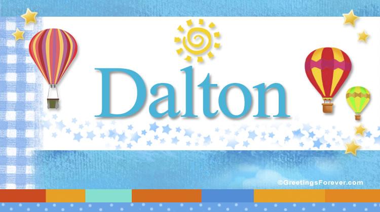 Dalton, imagen de Dalton