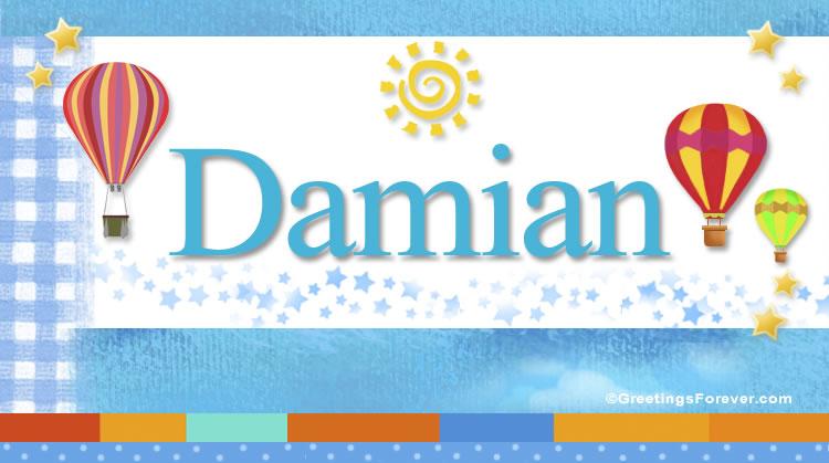 Damian, imagen de Damian