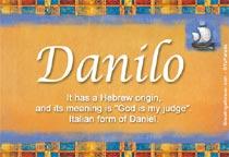 Name Danilo