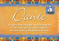 Name Dante