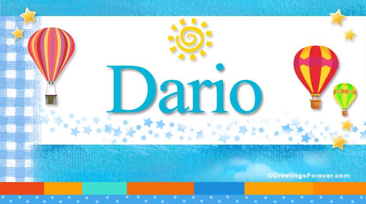 Dario, imagen de Dario