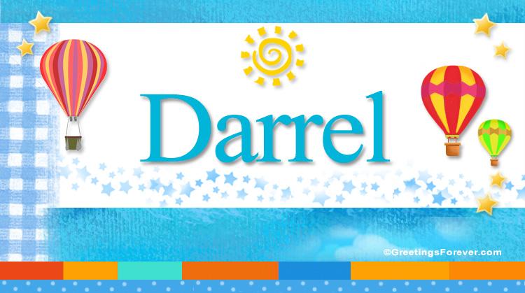 Darrel, imagen de Darrel