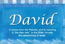 Name David