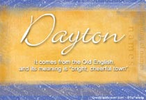 Name Dayton