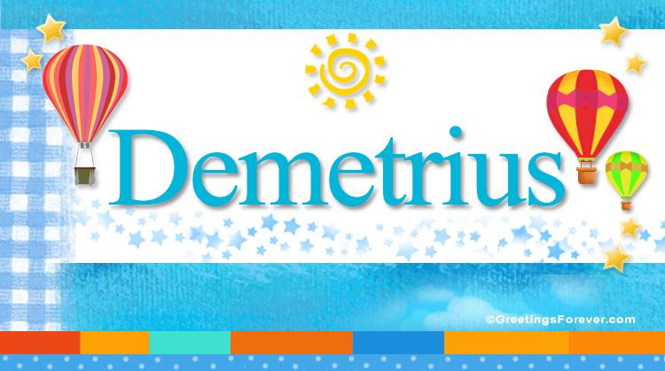 Demetrius, imagen de Demetrius