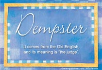 Name Dempster