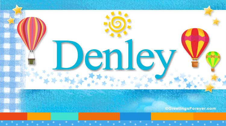 Denley, imagen de Denley