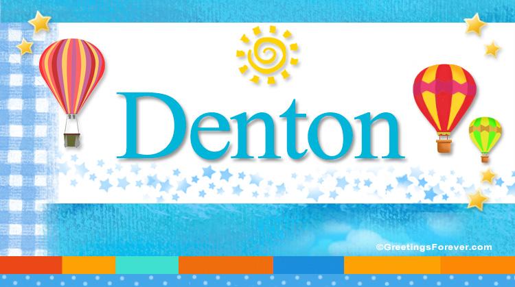 Denton, imagen de Denton