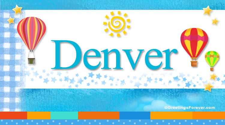Denver, imagen de Denver