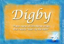 Name Digby