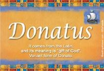 Name Donatus