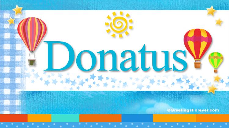 Donatus, imagen de Donatus