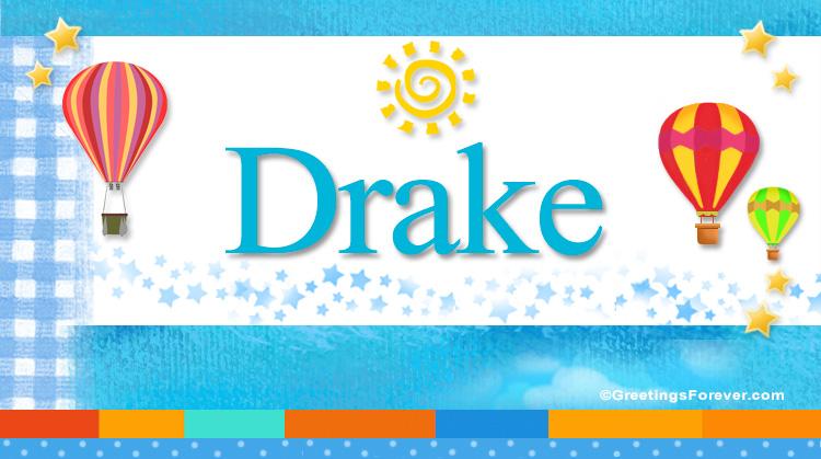 Drake, imagen de Drake
