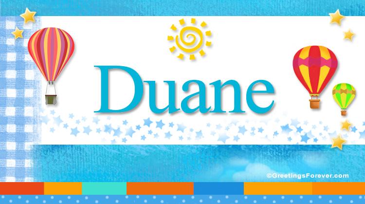 Duane, imagen de Duane