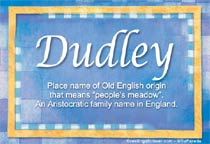 Name Dudley