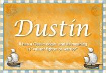 Name Dustin