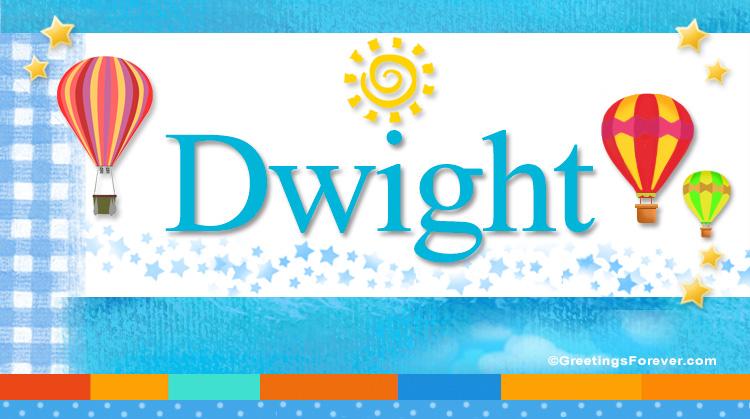 Dwight, imagen de Dwight