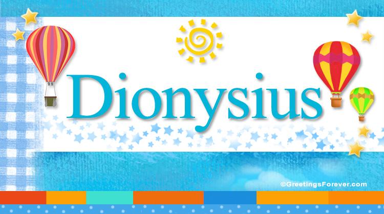 Dionysius, imagen de Dionysius
