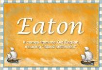 Name Eaton
