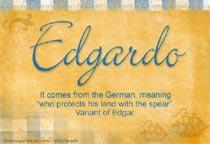 Name Edgardo