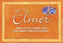 Name Elmer
