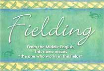 Name Fielding