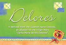 Name Delores