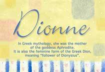 Name Dionne