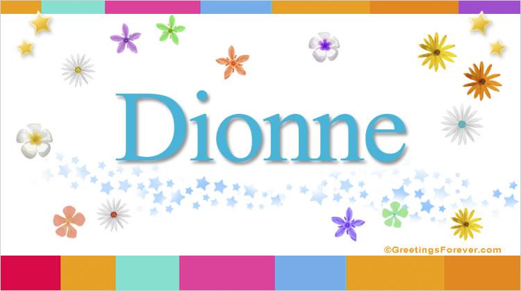 Dionne, imagen de Dionne