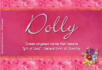 Name Dolly