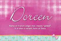 Name Doreen