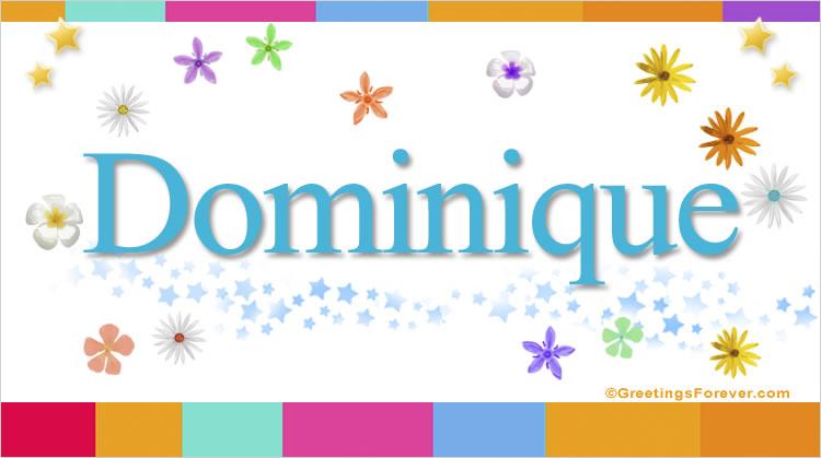 Dominique, imagen de Dominique