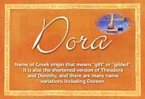 Name Dora