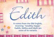 Name Edith