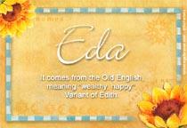 Name Eda