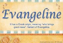 Name Evangeline
