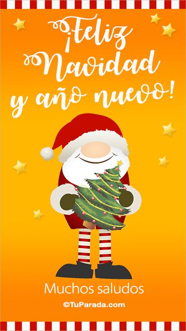 Saludo de Papá Noel