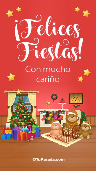 Feliz Navidad con cariño