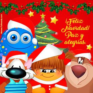 Tarjeta de Imágenes para Navidad