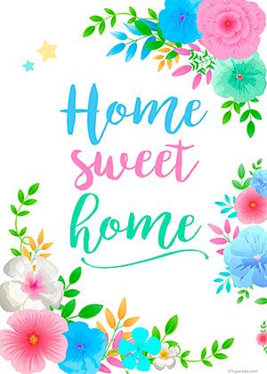 Diseño Home Sweet Home