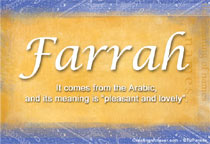 Name Farrah