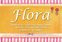 Name Flora