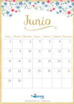Calendario Junio 2020