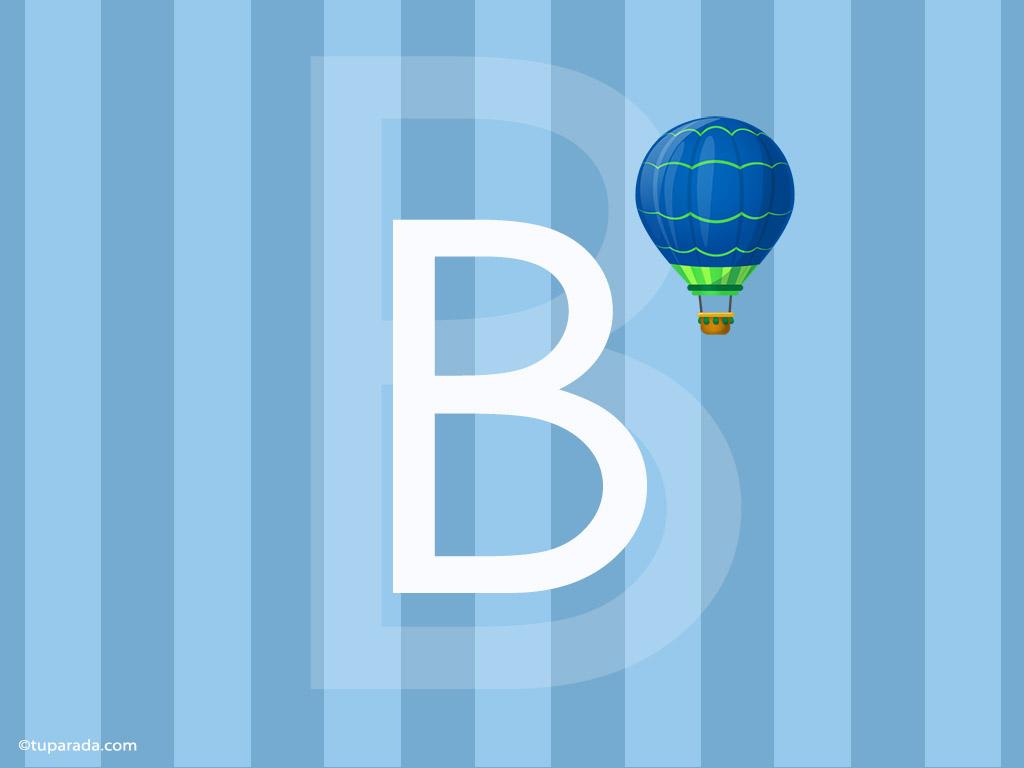 Tarjeta - Inicial B - Deco