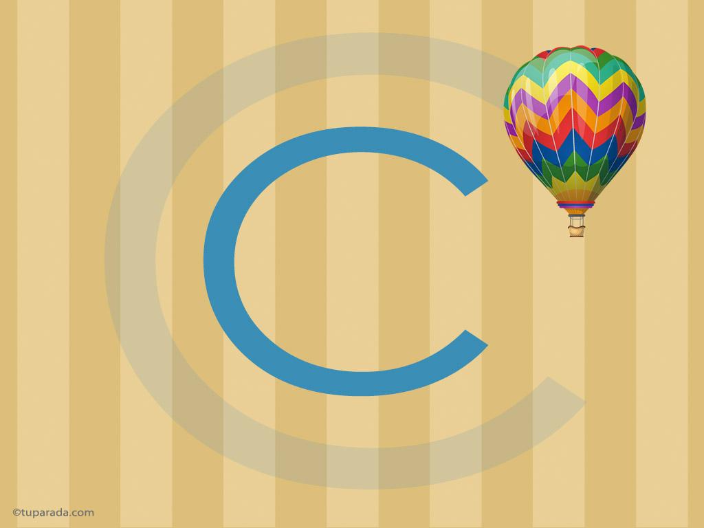 Tarjeta - Inicial C - Deco