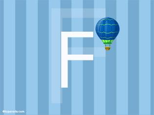 Inicial F - Deco
